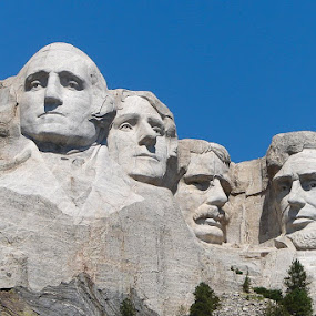 MT Rushmore by Steve Fisher - Buildings & Architecture Statues & Monuments