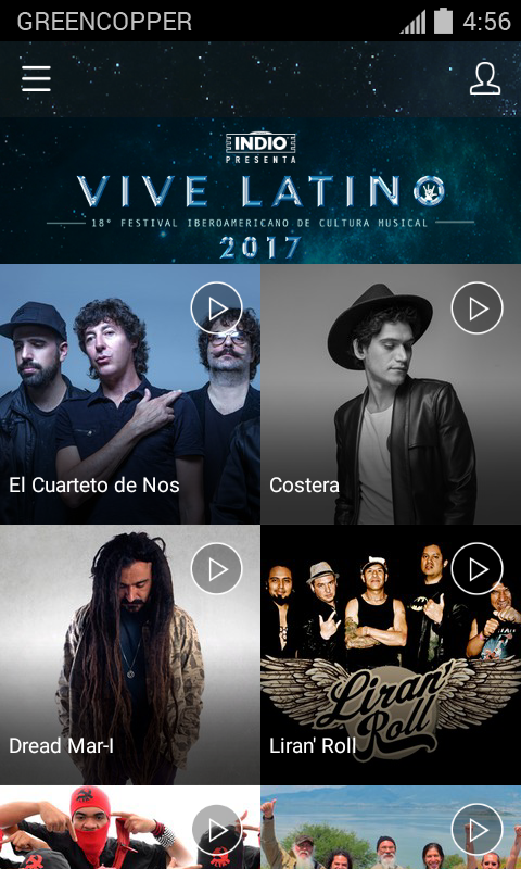 Vive Latino 2017- screenshot