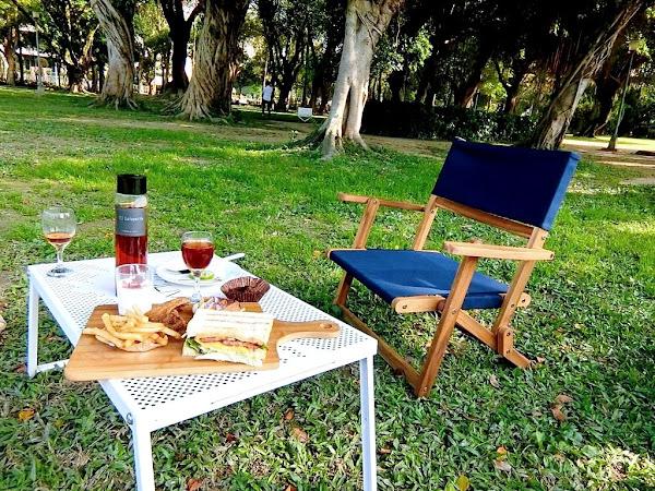 |野餐餐廳|璐露野生活Luluyelife Café .提供野餐道具租借,不須張羅野餐道具,優雅的享受餐點!親子野餐~捷運信義安和