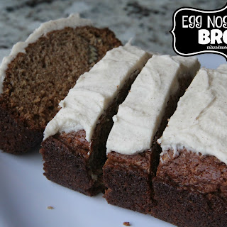 Egg Nog Pecan Bread