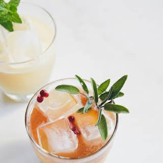 Classic Mai Tai Cocktail.