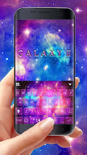 Galaxy2 Starry Keyboard Themes 1