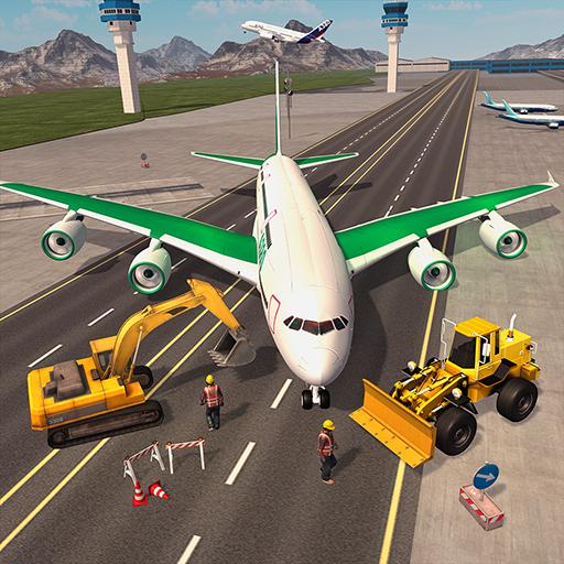 Border Security Builder Truck Cargo Plane Game