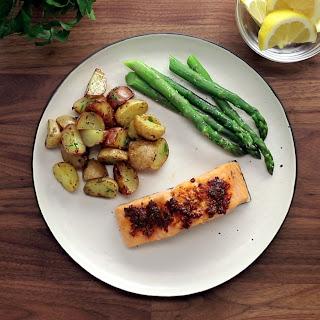 Cajun Baked Salmon Recipe
