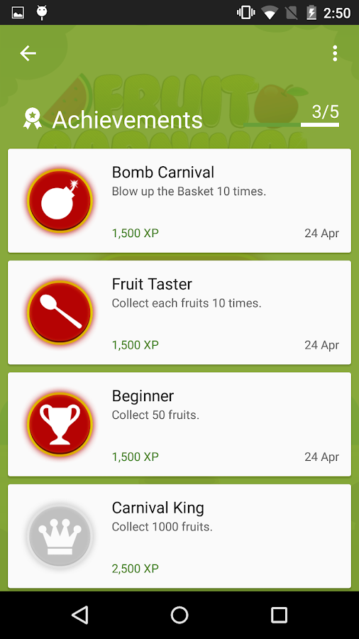 Fruit Carnival - screenshot