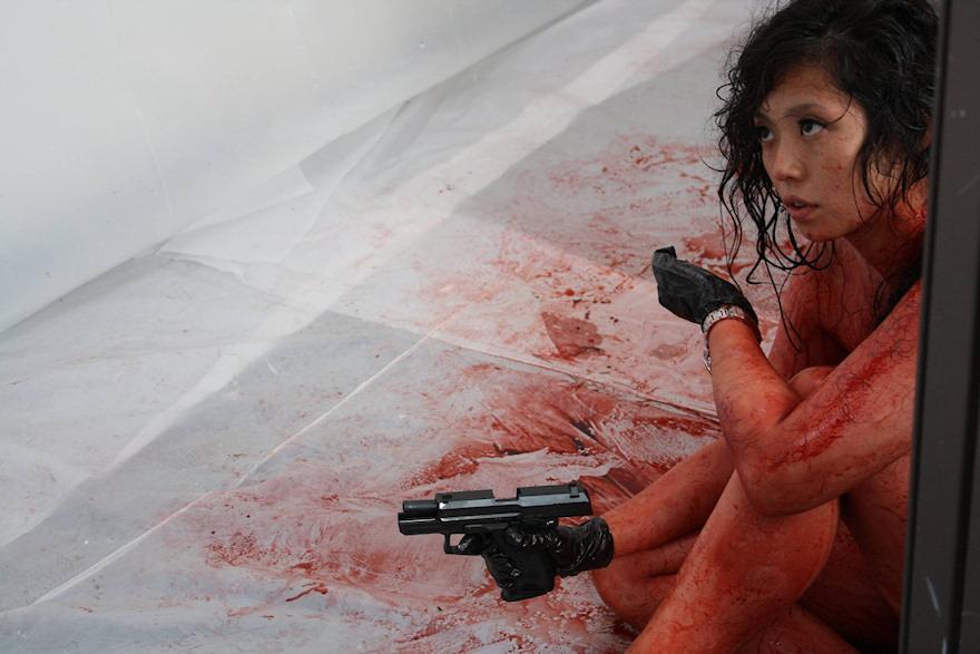 Image result for gun woman movie stills asami