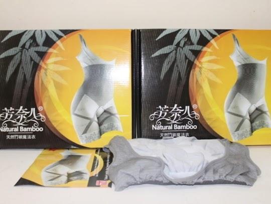 Korset Pelangsing Bamboo Infrared Pelangsing Serat Bambu Infra Merah original mengencangkan membentuk tubuh