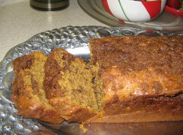 Cinnamon Swirl Pumpkin Quick Bread Recipe