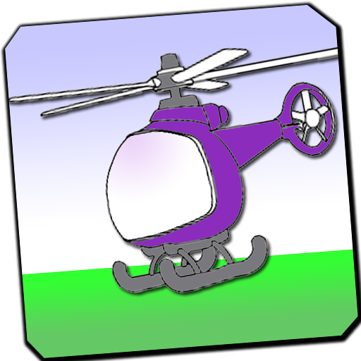 car helicopter coloring