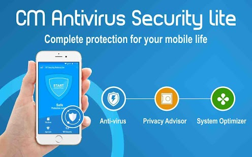 CM ANTIVIRUS SECURITY LITE (ANDROID PROTECTION) - náhled