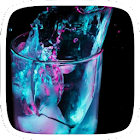 Blue Water Glass Theme icon