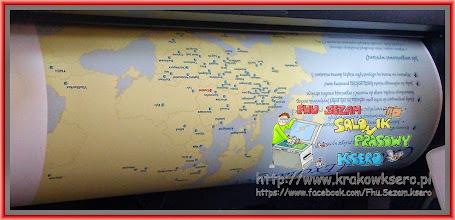 Photo: Mapa pozioma rozmiar B1 - czas realizacji usługi około 10 min. Papier Matt 180g/m