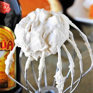 Kahlua Whipped Cream (Print recipe).