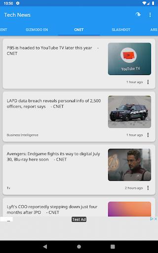 Tech News 1.9.1 Screenshots 14