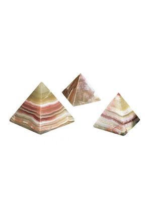 Pyramid, onyxmarmor pyramid