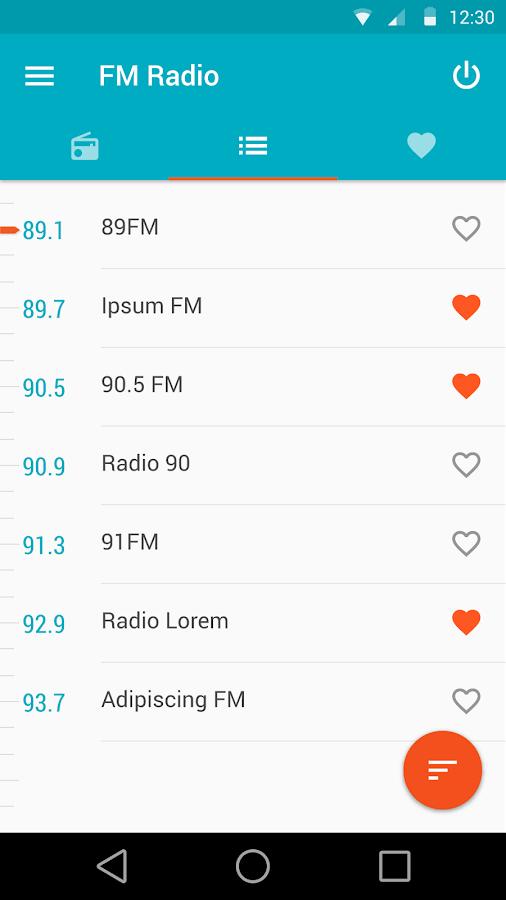 Motorola FM Radio- screenshot