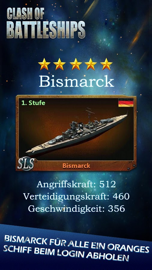 Clash of Battleships - Deutsch- screenshot