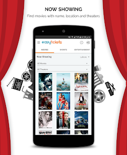 EasyTickets: Buy Movie Tickets- screenshot thumbnail