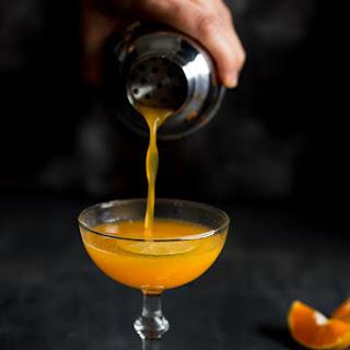 Satsuma Orange Vodka Cocktail.