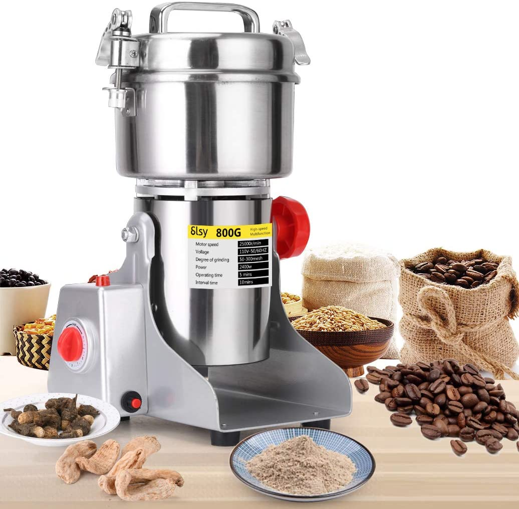 SLSY 800g Electric Grain Grinders Mill