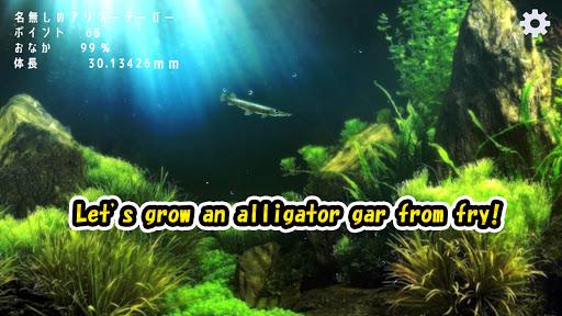 Alligator Gar raising from fry 1.0.7 screenshots 1