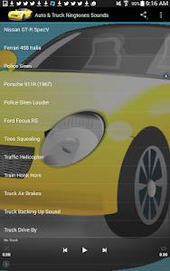 Auto & Truck Ringtones Sounds screenshot 12