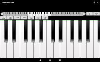 Screenshot of Grand Piano Free