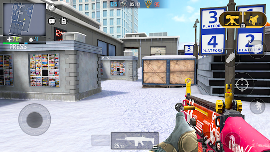 Modern Ops: Juegos de Pistolas – Guerra Online FPS 2