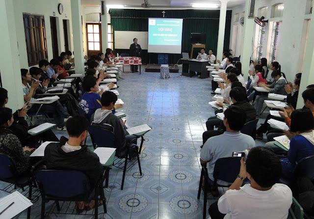 Hình ảnh ngày thành lập Hội sinh viên Công giáo giáo phận Hưng Hóa