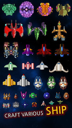 Grow Spaceship - Galaxy Battle apkmr screenshots 2
