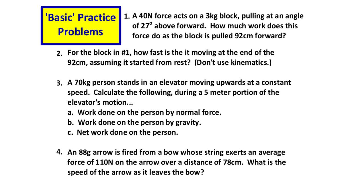 APC Unit 3 Basic HW Problems pdf - Google Drive