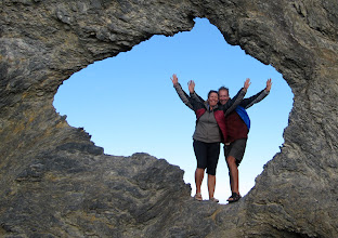Photo: Year 2 Day 168 -  Us Standing in Australia Rock