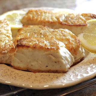 Halibut Fillets Flour Recipes