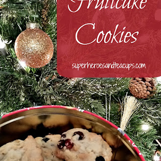 Fruit Cake Cookie.