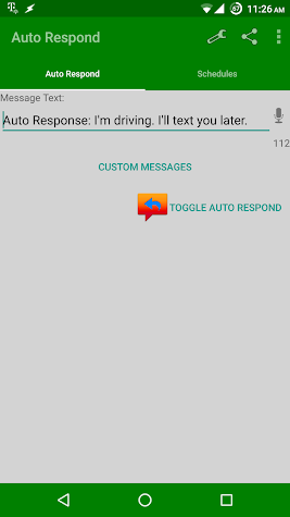 Auto Respond Pro Screenshot