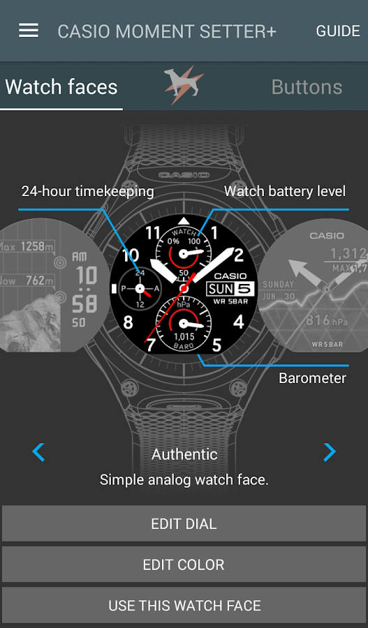 CASIO MOMENT SETTER+(Old Ver.)- screenshot