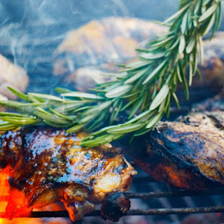 Grilled Rosemary Chicken.