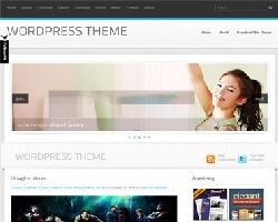 LightBlue Free Magazine WordPress Theme