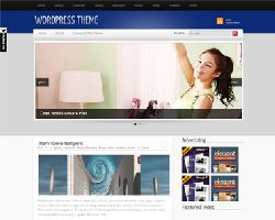 SimplyBlue Magazine WordPress Theme
