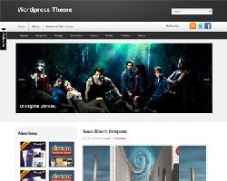 CharmingDark Magazine WordPress Theme