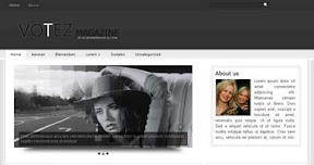 Free Wordpress Theme - Votez
