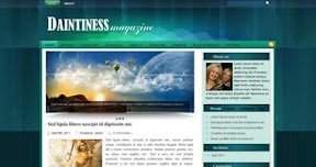 Free Wordpress Theme - Daintiness