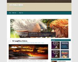 GreenNdBrown Free WordPress Theme