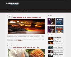 DarkRed Free WordPress Theme