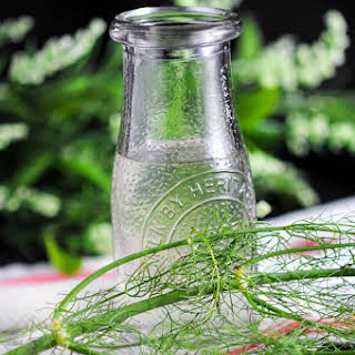 Fennel Simple Syrup.