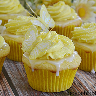 Lemon Cloud Cupcakes