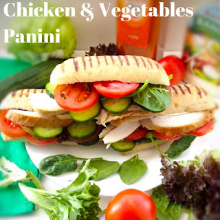 Chicken and Vegetables Panini