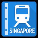Singapore Rail Map - Subway icon