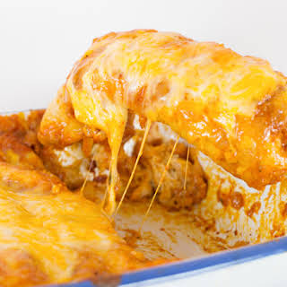 Chicken Enchiladas.