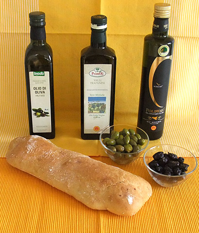 Sizilianischen Küche - Olivenöl ist das Gold Siziliens